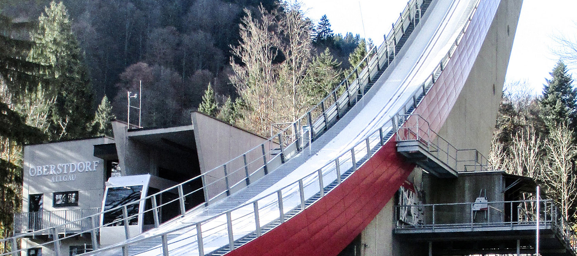 Sky Flying Hill Oberstdorf: steel construction by Rädlinger